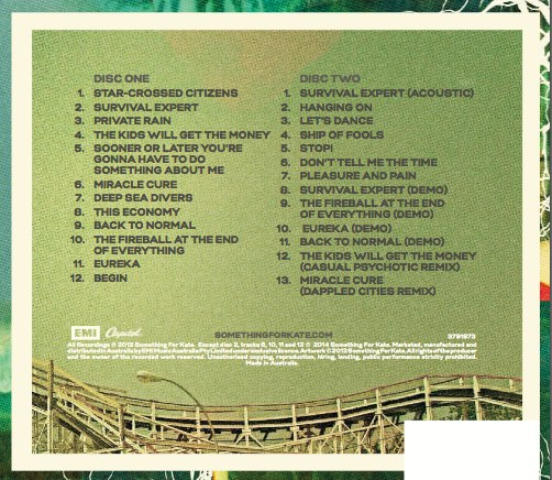 LYSTS Deluxe CD tracklist