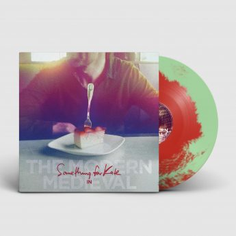 double mint & red dual colored vinyl